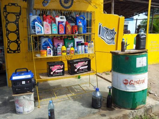 Tienda de repuestos en Chockwe